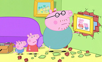 Peppa Pig S01E45 Daddy Puts up a Picture