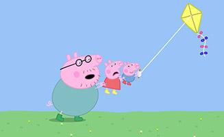 Peppa Pig S01E14 Flying a Kite