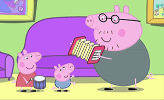 Peppa Pig S01E16 Musical Instruments