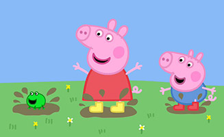 Peppa Pig S01E17 Frogs and Worms and Butterflies