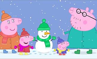 Peppa Pig S01E26 Snow