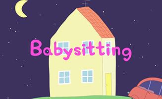 Peppa Pig S01E30 Babysitting