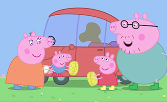 Peppa Pig S01E33 Cleaning the Car