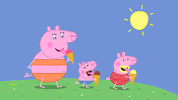 Peppa Pig S01E40 Very Hot Day