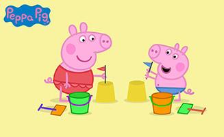Peppa Pig S01E46 At the Beach