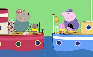 Peppa Pig S01E48 Grandpa Pigs Boat