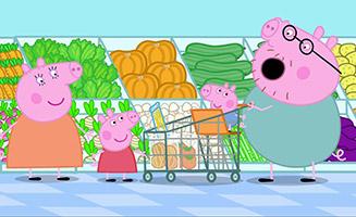 Peppa Pig S01E49 Shopping