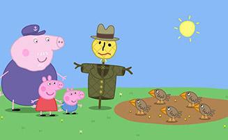 Peppa Pig S02E07 Mr Scarecrow