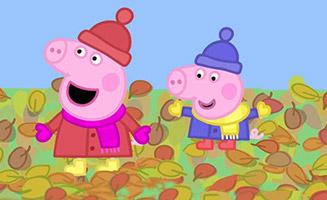 Peppa Pig S02E08 Windy Autumn Day