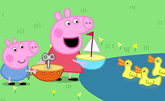 Peppa Pig S02E12 The Boat Pond