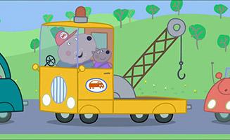 Peppa Pig S02E13 The Traffic Jam