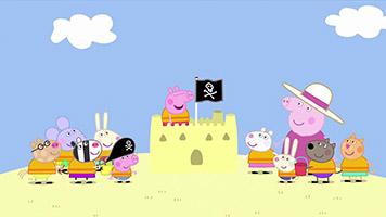 Peppa Pig S02E23 Pirate Island