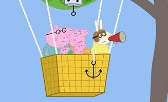 Peppa Pig S02E25 The Balloon Ride