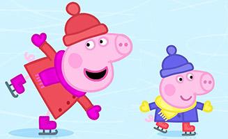 Peppa Pig S02E34 Ice Skating