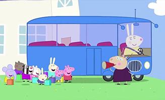 Peppa Pig S02E38 School Bus Trip