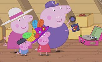 Peppa Pig S02E42 Granny and Grandpas Attic