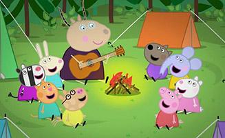 Peppa Pig S02E45 School Camp