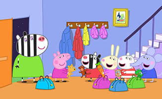 Peppa Pig S02E51 The Sleepover
