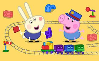 Peppa Pig S03E08 Richard Rabbit Comes to Play