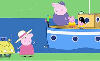 Peppa Pig S03E11 Pollys Boat Trip
