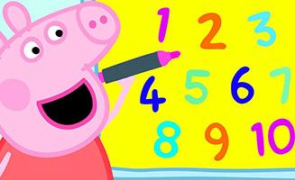 Peppa Pig S03E25 Numbers