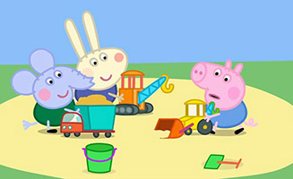 Peppa Pig S03E26 Digging up the Road
