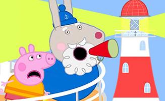Peppa Pig S03E36 Grampy Rabbits Lighthouse