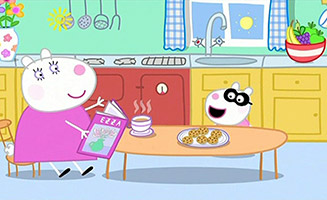 Peppa Pig S03E37 Miss Rabbits Day Off