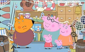 Peppa Pig S03E43 Mr Foxs Van
