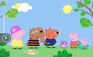 Peppa Pig S03E44 Chloés Big Friends
