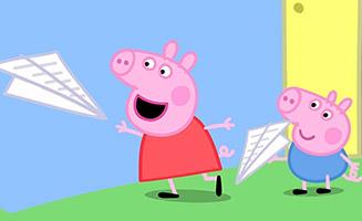 Peppa Pig S03E48 Paper Aeroplanes