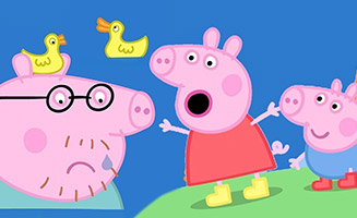 Peppa Pig S03E50 The Biggest Muddy Puddle in the World