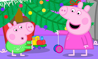 Peppa Pig S03E52 Santas Visit