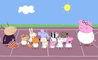 Peppa Pig S04E03 Basketball