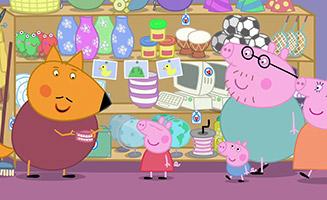 Peppa Pig S04E06 Mr Foxs Shop