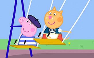 Peppa Pig S04E08 International Day
