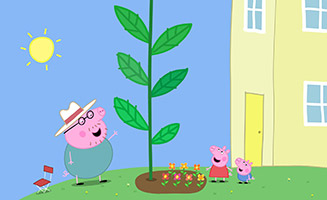 Peppa Pig S04E12 Peppa and Georges Garden