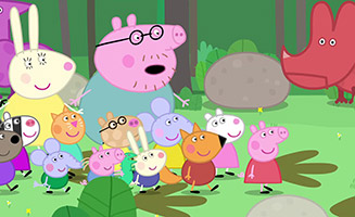 Peppa Pig S04E16 Grampy Rabbits Dinosaur Park