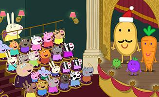 Peppa Pig S04E25 Mr Potatos Christmas Show