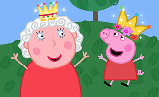 Peppa Pig S04E27 The Queen