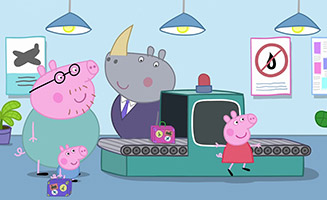 Peppa Pig S04E36 Flying on Holiday