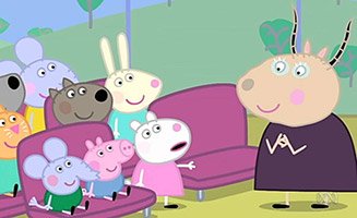 Peppa Pig S04E41 Pedro is Late