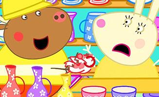 Peppa Pig S04E44 Mr Bull in a China Shop