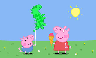 Peppa Pig S04E46 Georges Balloon