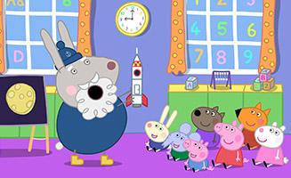 Peppa Pig S04E50 Grampy Rabbit in Space