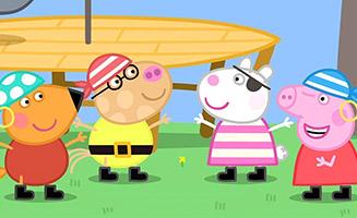 Peppa Pig S04E52 Pirate Treasure