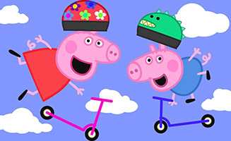 Peppa Pig S05E04 Scooters