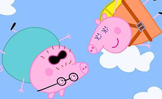 Peppa Pig S05E07 Parachute Jump