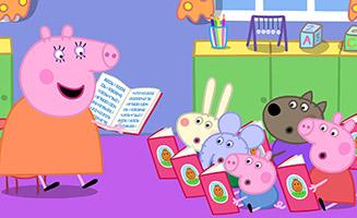 Peppa Pig S05E11 Mummy Pigs Book