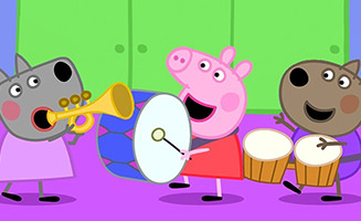 Peppa Pig S05E14 Move To Music